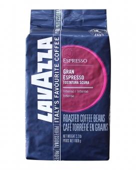 Кофе в зернах Lavazza Gran Espresso Tostatura Scura, 1 кг (70/30)